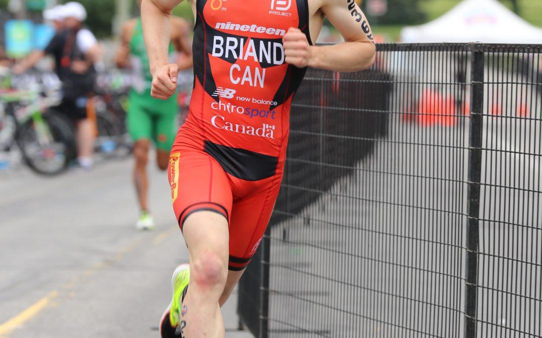 Le triathlète julievillois Jérémy Briand participera à la Coupe du monde, au Mexique
