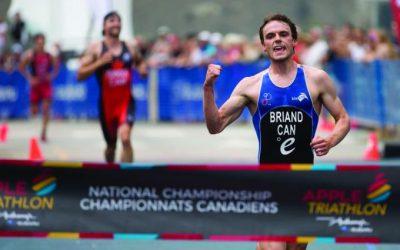 Champion canadien de triathlon à Sainte-Julie